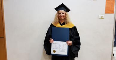 """ד""""ר פנינה ארד – טקס קבלת התואר 'דוקטור לפסיכולוגיה'"""